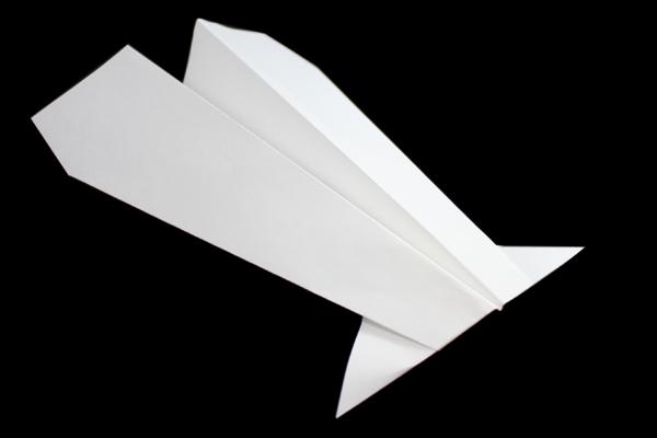 のしいか型紙飛行機の折り方 折り紙 JAPAN