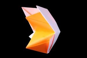 『おしゃべり きつね』の折り紙 折り方《動物シリーズ》