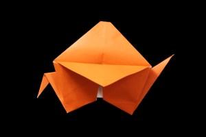 『すずめ』の折り紙 折り方《鳥シリーズ》
