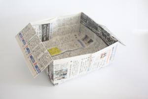 折り紙で作る『便利箱』の簡単な《折り方・作り方》