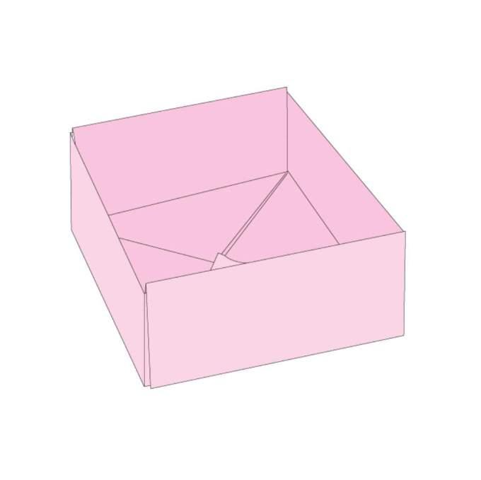 折り紙の箱完成