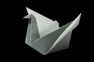 Swan | Easy origami instructions and diagram