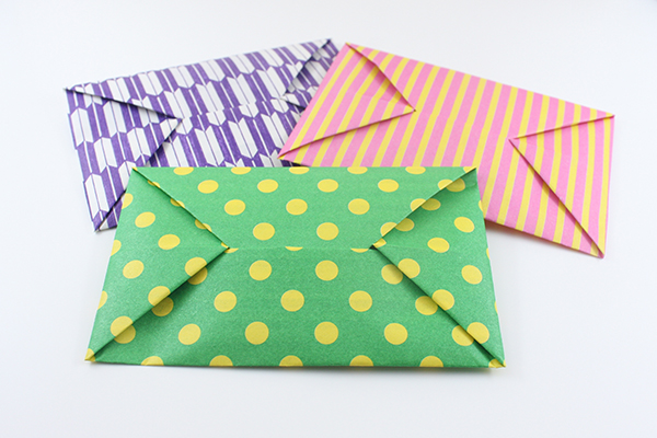 origami envelope from a4 paper paper crafts instructions
