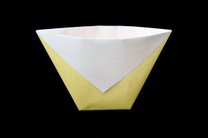 Cup / Bag | Easy origami instructions and diagram