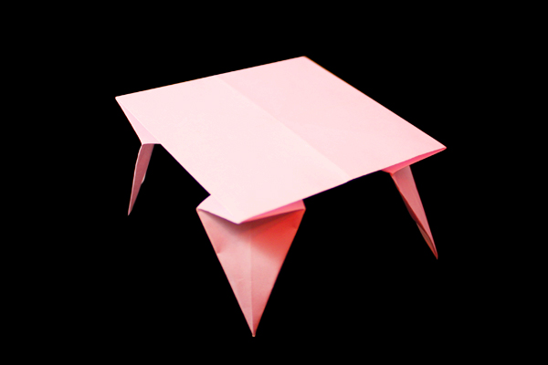 Table | 100 Easy origami instructions and diagram