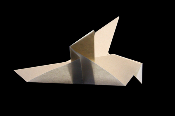 How To Make An Origami Dove - Folding Instructions - Origami Guide | 400x600