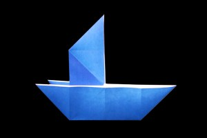 Sailing Ship | 100 Easy origami instructions and diagram