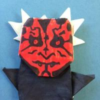Darth Maul - 7 horns, 2 arms, zero cuts