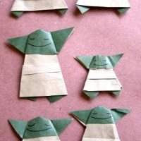 A trip WAY down memory lane.... 1,000 Origami Yodas