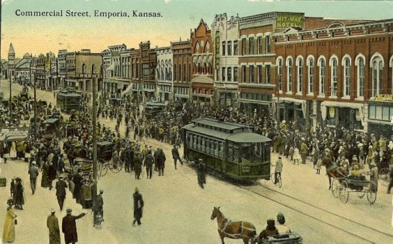 Downtown Emporia Cable Car
