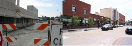 Downtown Lees Summit Before and After