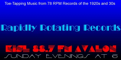 Rapidly Rotating Records 78RPM Logo