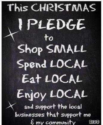 Shop Local Christmas Pledge