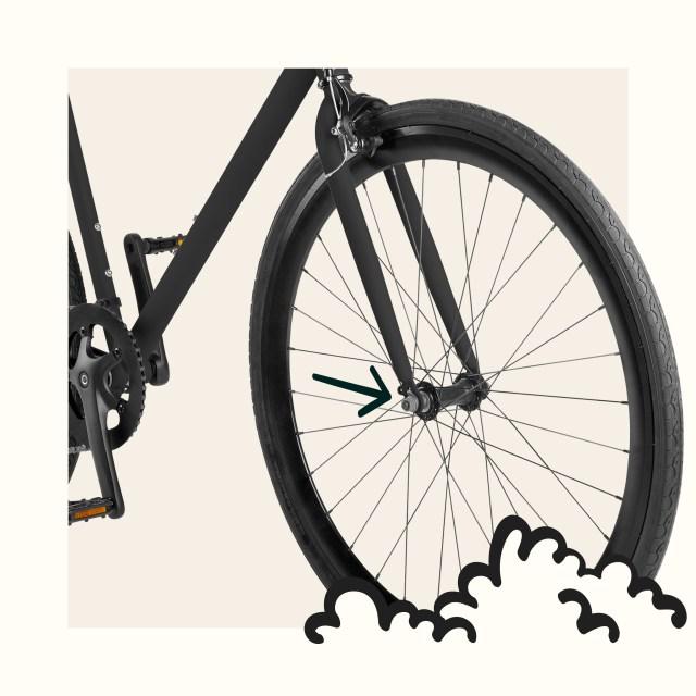 Harper-7 Commuter Bike - 7 Speeds  Retrospec
