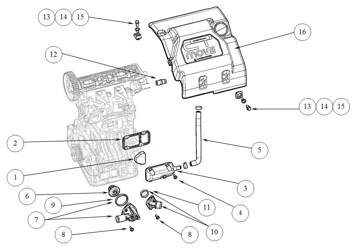 T44 Engine equipment