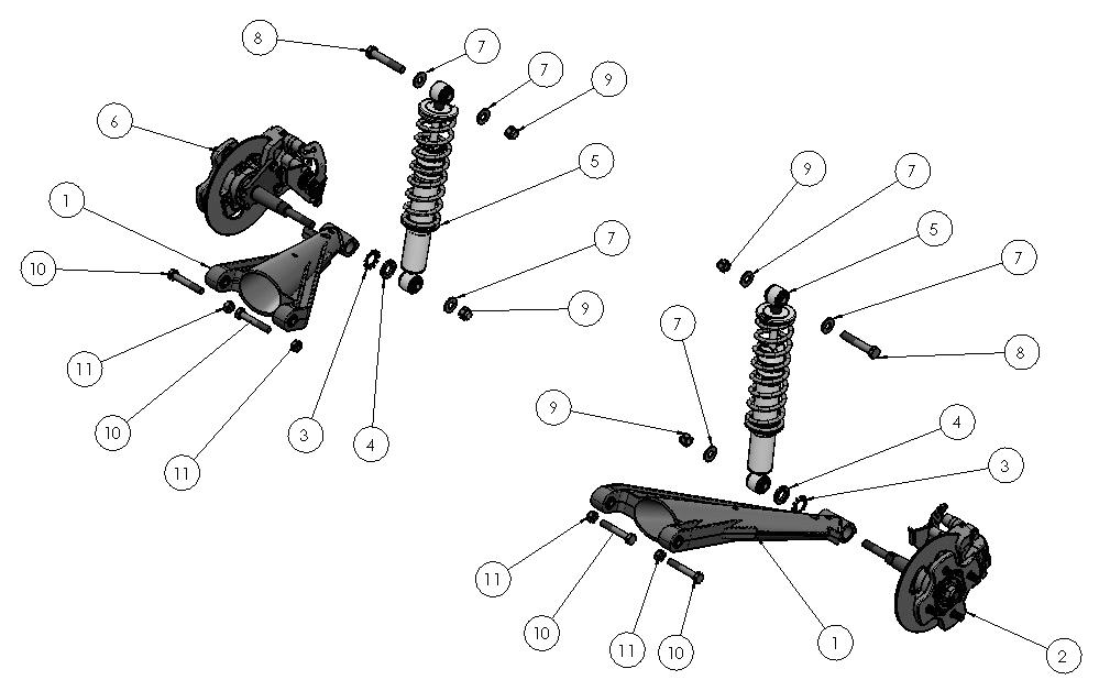 T27 Rear suspension