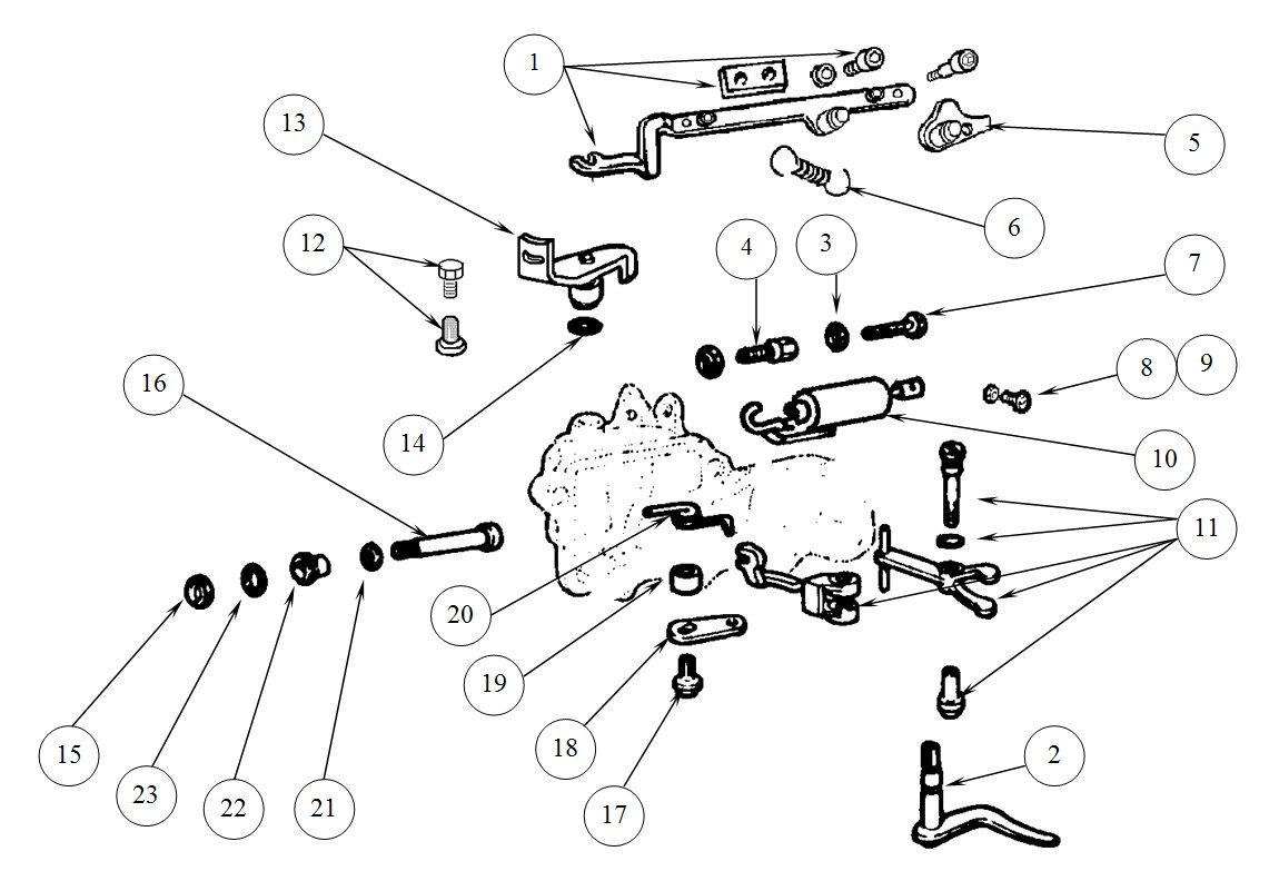 T49 Gearbox mechanism