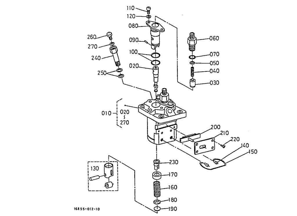 Fuel pump (component parts)
