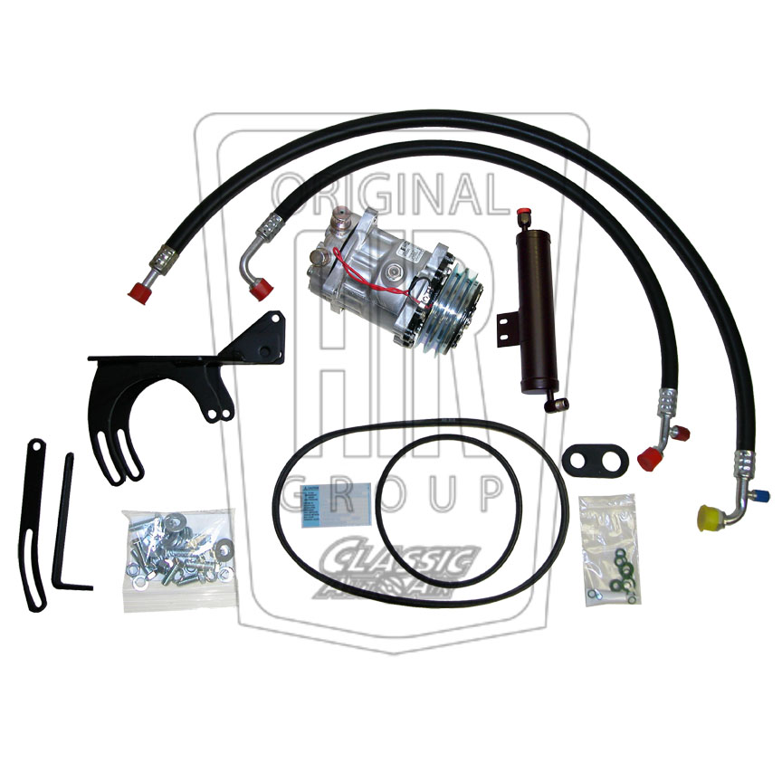 1966 FORD MUSTANG 6 Cyl Hi-Perf. AC Compressor Upgrade Kit