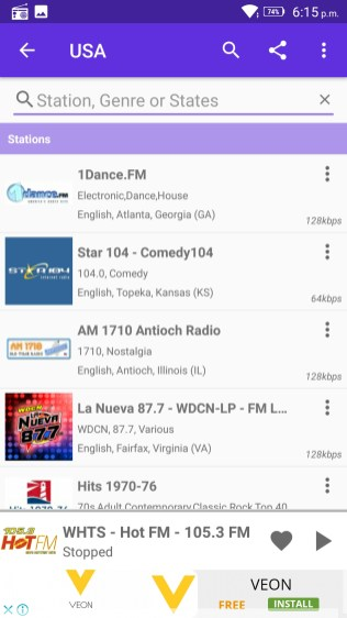 Radio FM Screenshots - Original APK (3)