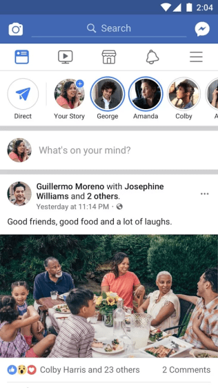 Facebook Screenshots - Original APK (1)