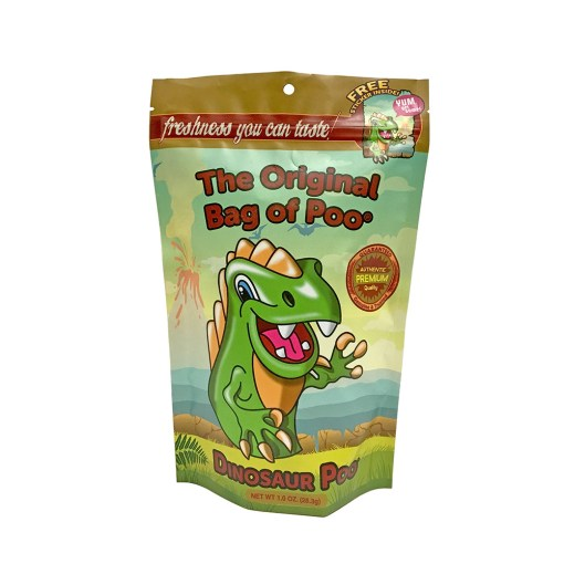Original Bag Of Poo Product Dinosaur Front