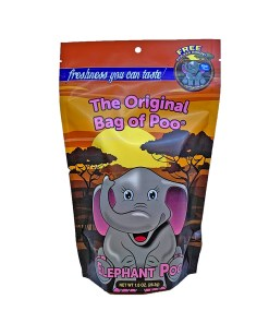 Original Bag Of Poo Product Elephant Front