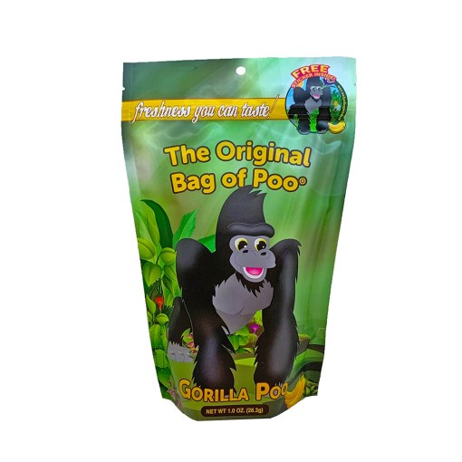Original Bag Of Poo Product Gorilla Front