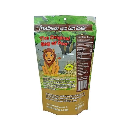 Original Bag Of Poo Product Lion Back