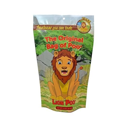 Original Bag Of Poo Product Lion Front