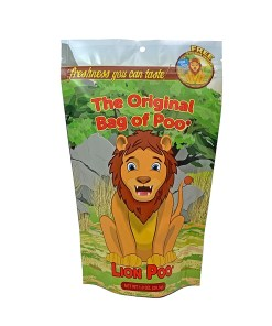 Original Bag Of Poo Product Lion Front
