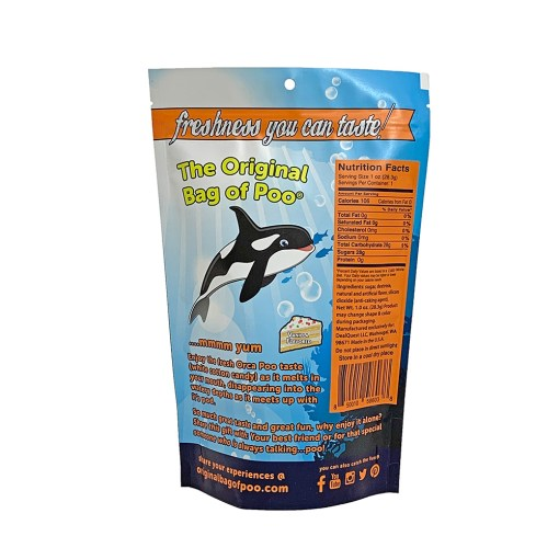 Original Bag Of Poo Product Orca Back
