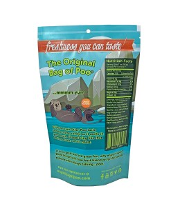 Original Bag Of Poo Product Otter Back