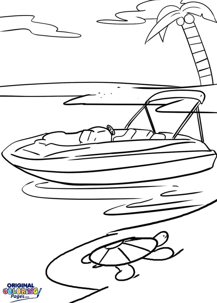 Boats – Coloring Pages
