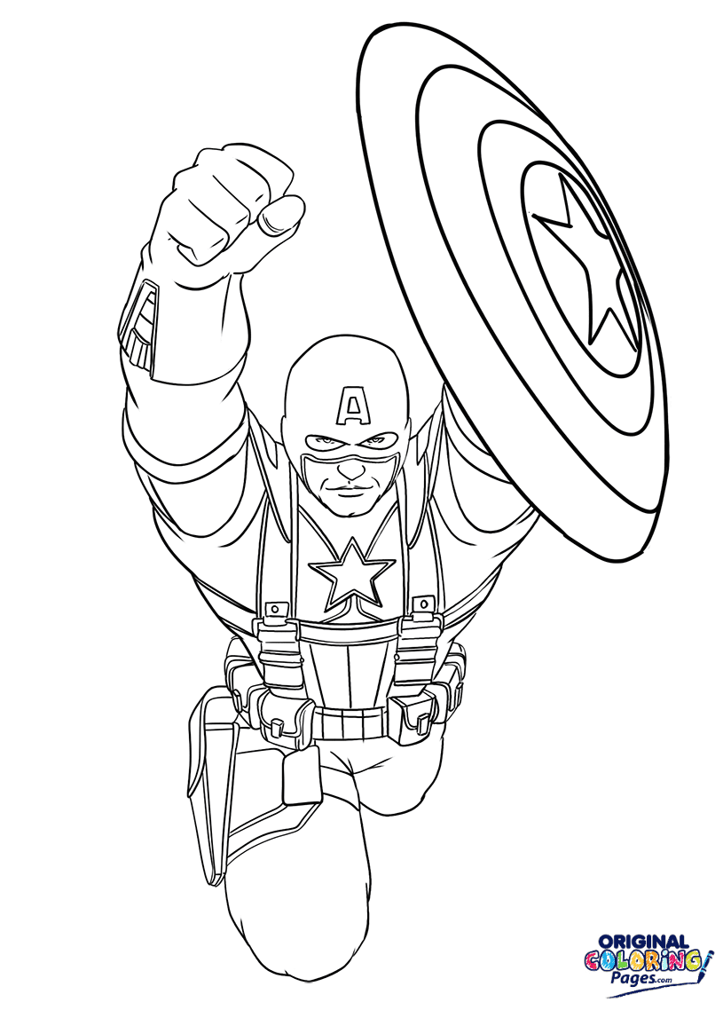 Superheroes – Coloring Pages