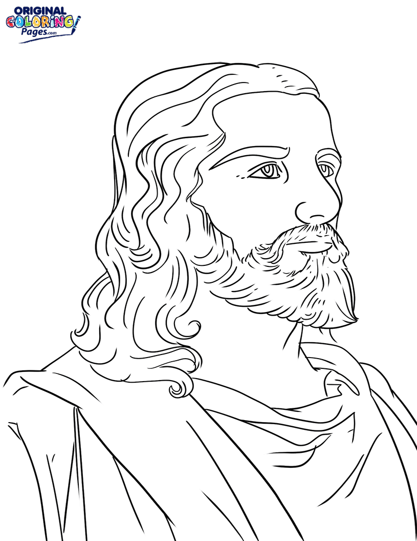Jesus Coloring Page – Coloring Pages