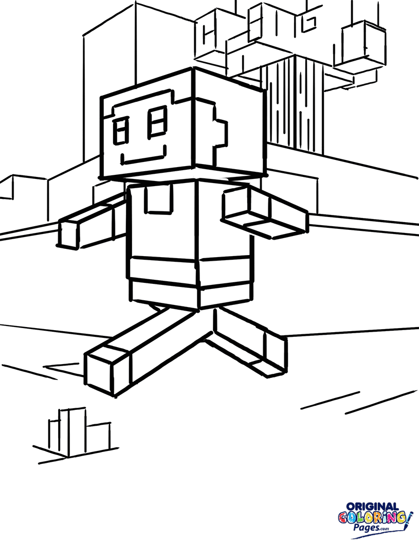 Minecraft Emerald Coloring Pages Coloring Pages