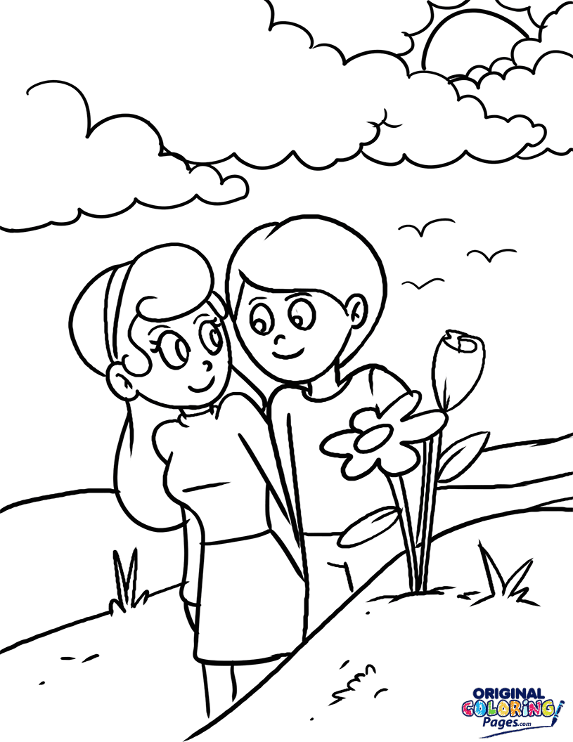 Spring – Coloring Pages