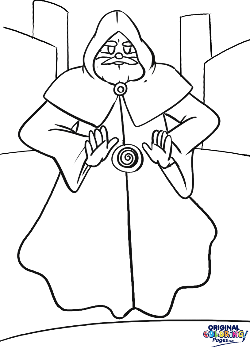Wizards – Coloring Pages
