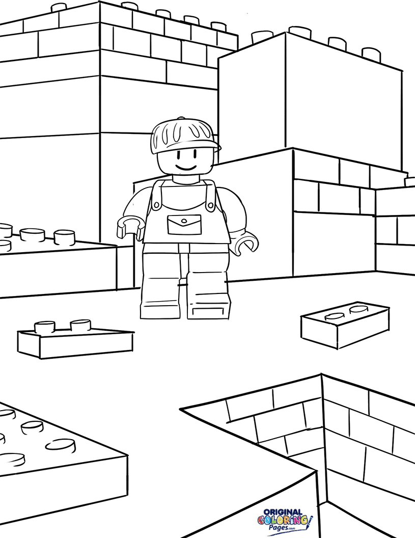 Lego – Coloring Pages