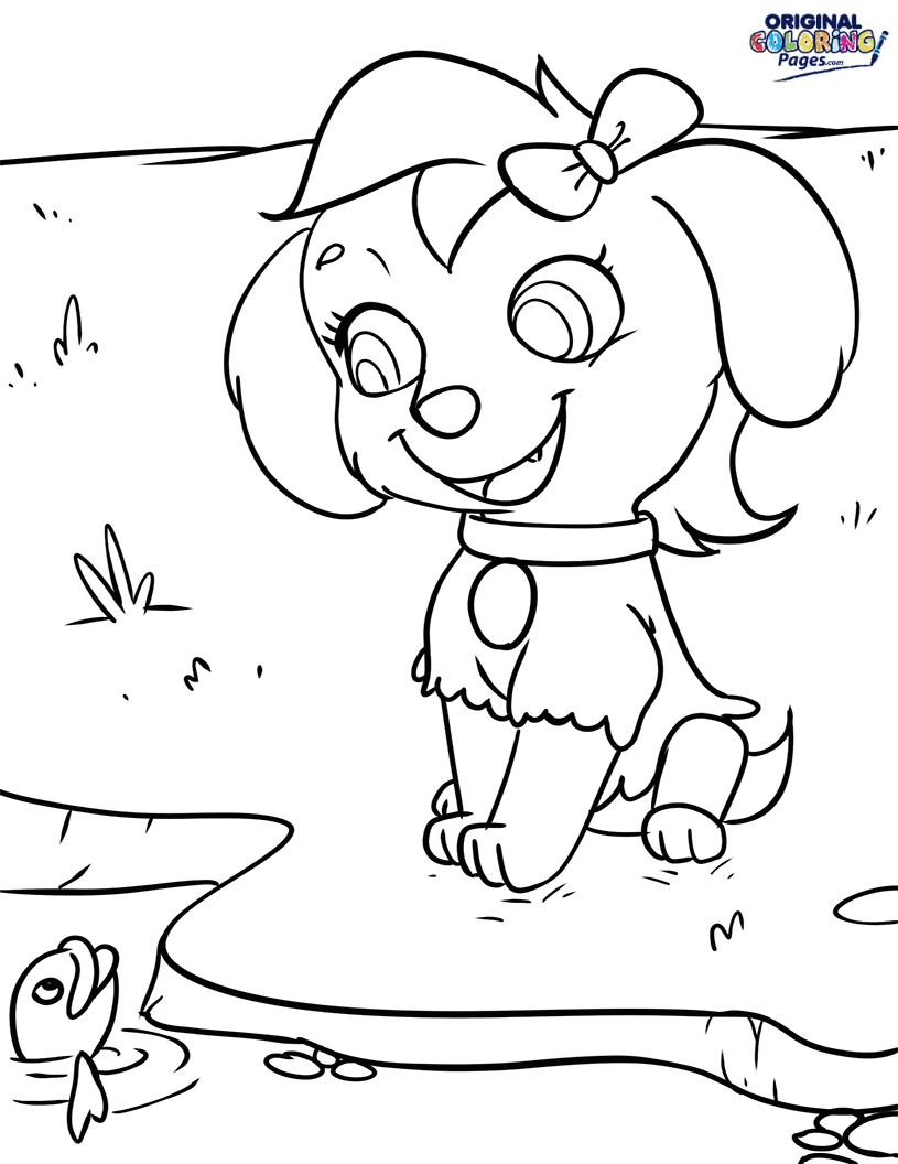 Paw Patrol Skye Coloring Page Coloring Pages Original Coloring Pages