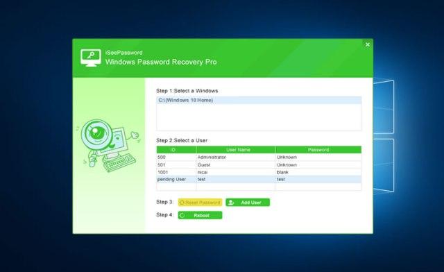 iSeePassword Windows Password Recovery Crack