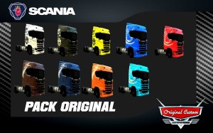 SKIN PACK SCANIA SUPER S730 ORIGINAL