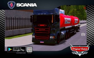 SKIN SCANIA R SUPER INTERCOOLER