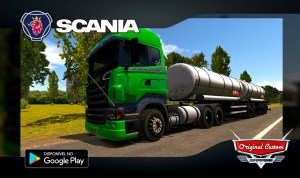 SCANIA R SUPER - SKINS WTDS - WORLD TRUCK DRIVING SIMULATOR