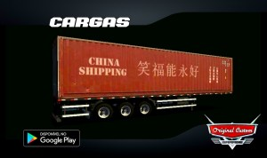 CONTRAINER CHINA SHIPPING - SKINS WTDS
