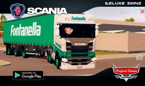 SCANIA FONTANELLA – SKINS WTDS