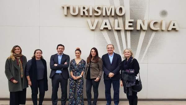 Isabel Reig es elegida presidenta del programa turístico València Shopping