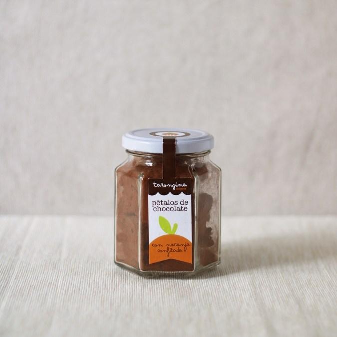 Pétalos de Naranja con Chocolate Tarongina