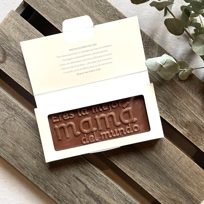 "Chocolate Utopick ""Eres la mejor Mamá"""